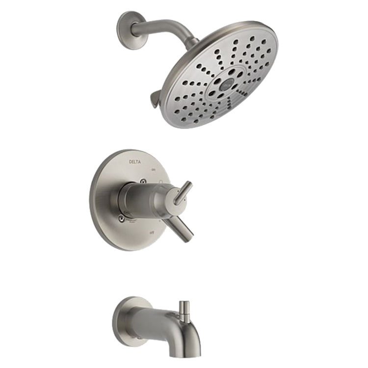 Delta T17T459-SSH2O Delta T17T459-SSH2O Stainless Tempassure Tub/Shower Trim
