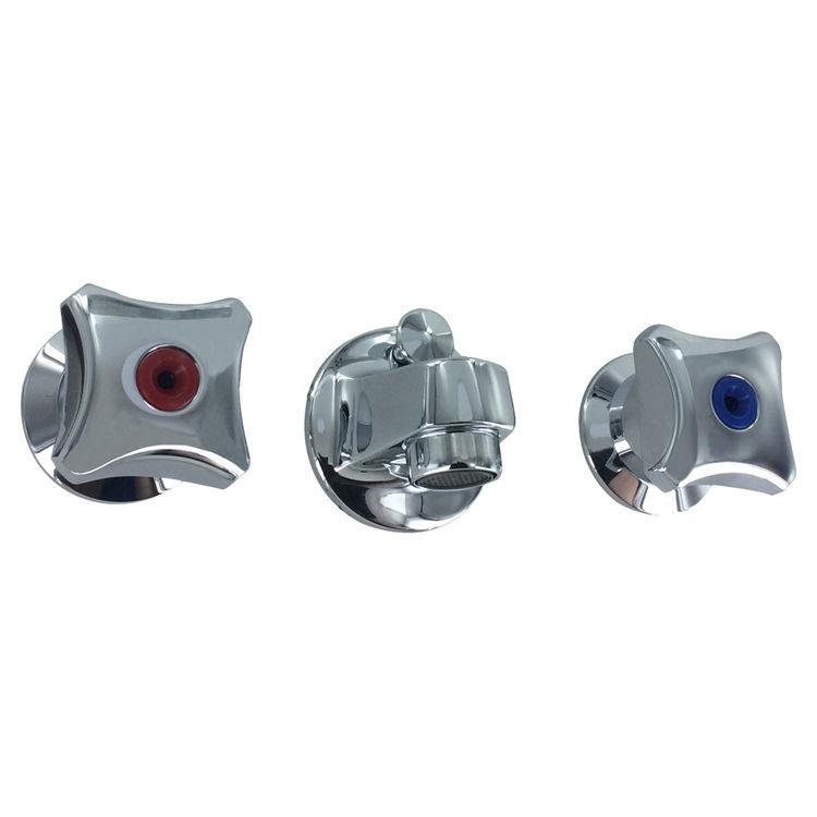 Kohler 8040-2A-CP Kohler K-8040-2A-CP Triton Shelf-Back Lavatory Faucet - Polished Chrome