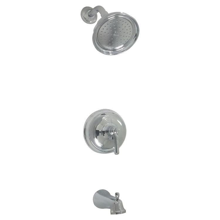 Kohler T10581-4-CP Kohler K-T10581-4-CP Bancroft Polished Chrome Bath and Faucet Trim