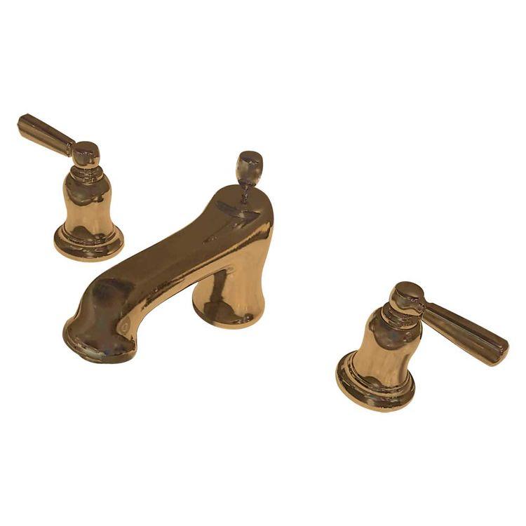 View 2 of Kohler T10592-4-BV Kohler K-T10592-4-BV Bancroft Brushed Bronze Deck Mount Bath Faucet