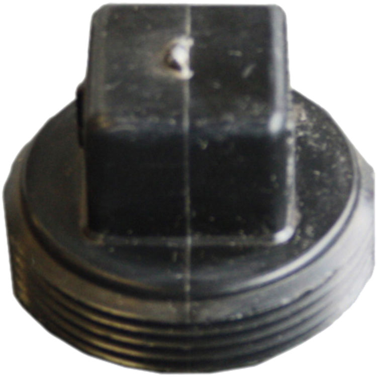 Commodity  2 Inch ABS Threaded Plug, ABS Construction