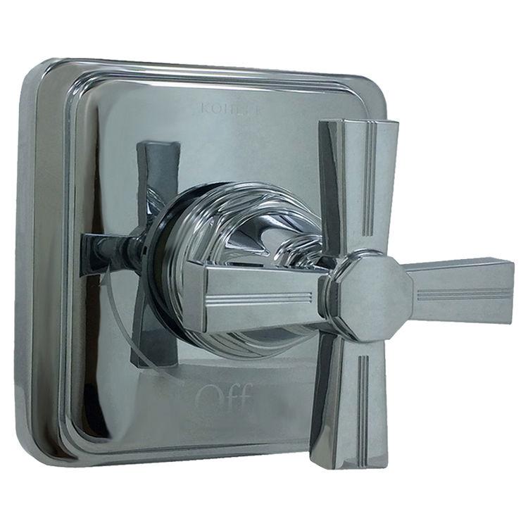 Kohler T13174-3B-CP Kohler K-T13174-3B-CP Pinstripe Volume Control Valve Polished Chrome Trim