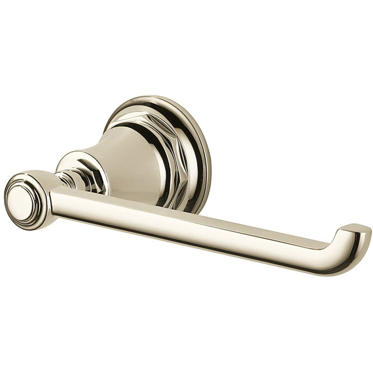 View 3 of Brizo 695061-PN Brizo 695061-PN Polished Nickel Rook Toilet Paper Holder