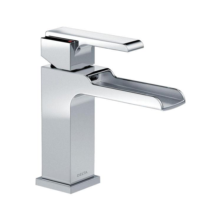 View 2 of Delta 568LF-LPU Delta 568LF-LPU Ara Single Handle Channel Bathroom Faucet, Chrome