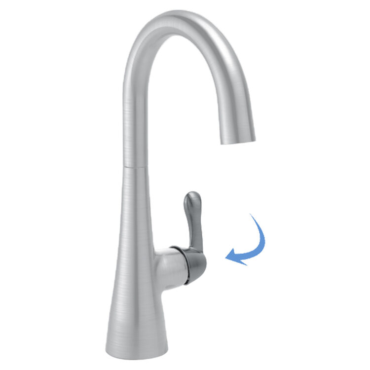 View 2 of Delta RP77700AR Delta RP77700AR Metal Lever Handle Kit, Arctic Stainless Steel