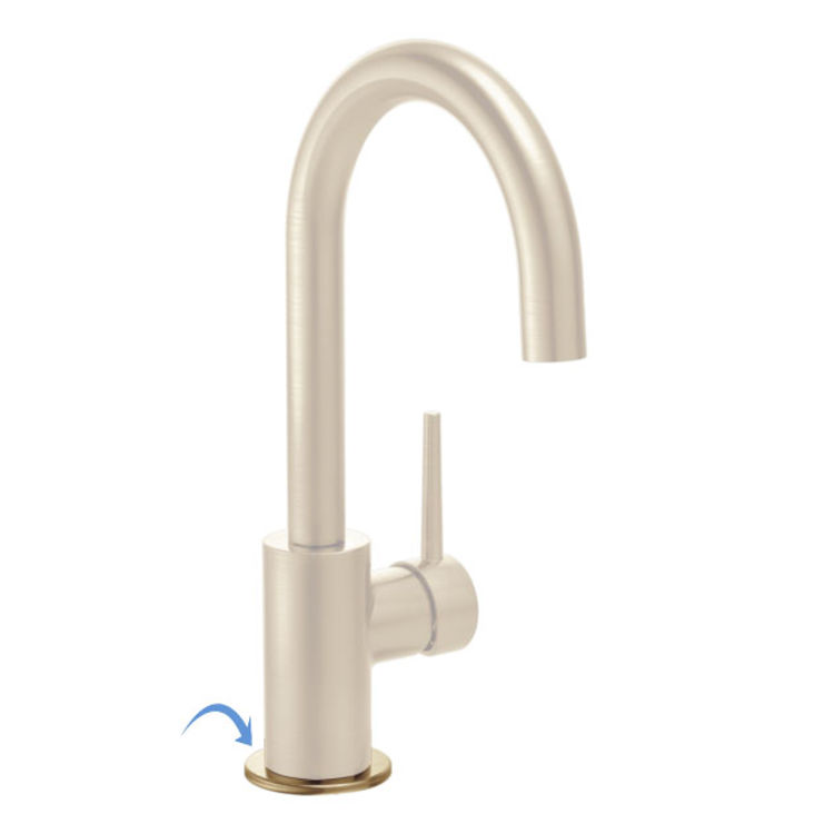 View 2 of Delta RP77704CZ Delta RP77704CZ Bar Faucet Flange and Gasket Kit, Champagne Bronze