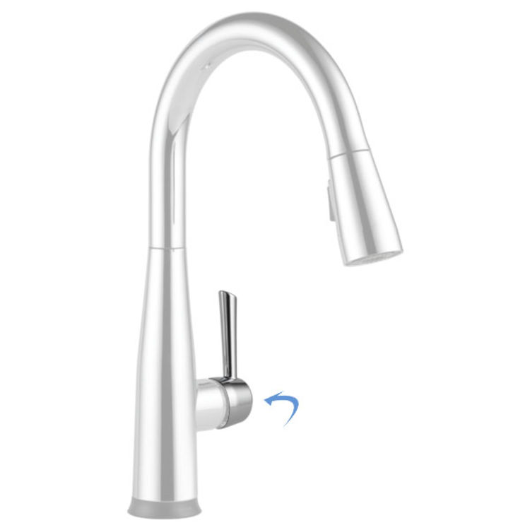 View 2 of Delta RP80525 Delta RP80525 ESSA Faucet Handle - Chrome
