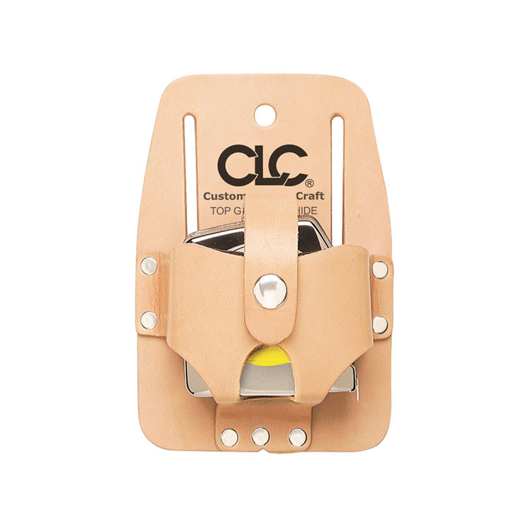 CLC 464 CLC 464 Tape Rule Holder, For Use With 16 - 30 ft Measuring Tapes, Top Grain Leather, Tan