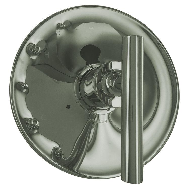 Kohler T14423-4-SN Kohler K-T14423-4-SN Polished Nickel Purist Rite-Temp Valve Trim