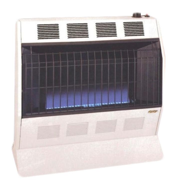 View 2 of Cozy BFT201 Cozy BFT201 Vent-Free Blue Flame Heater-20,000 BTU, Neutral Bone