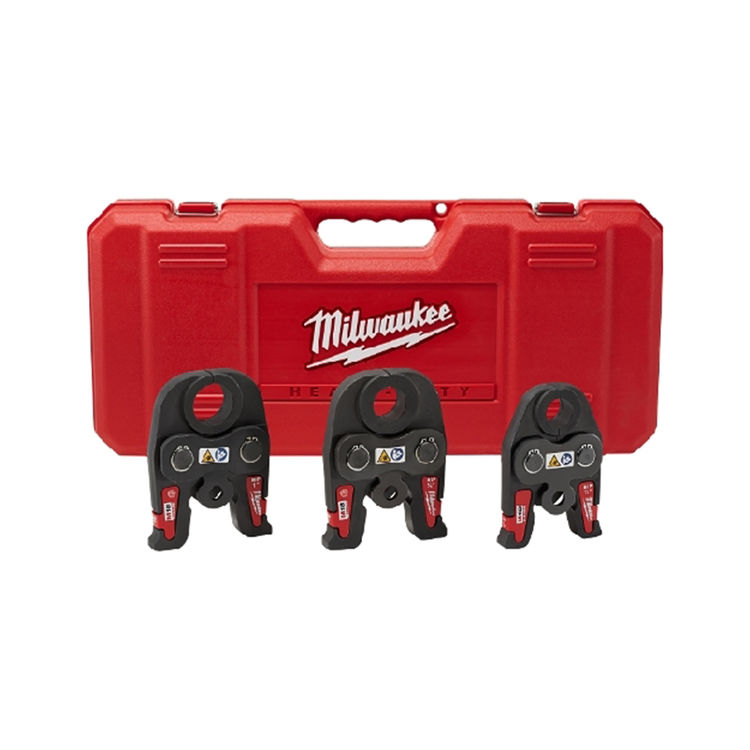 Milwaukee 49-16-2696 Milwaukee 49-16-2696 M18 Black Iron Press Jaw Kit, 1/2