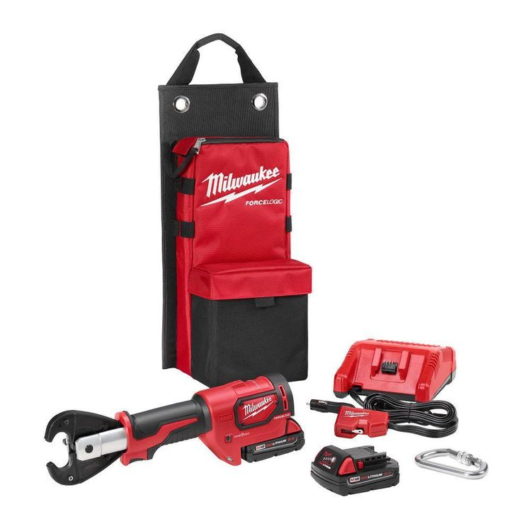 View 2 of Milwaukee 2678-22 Milwaukee 2678-22 M18 Force Logic 6T Utility Crimping Kit with D3 Grooves