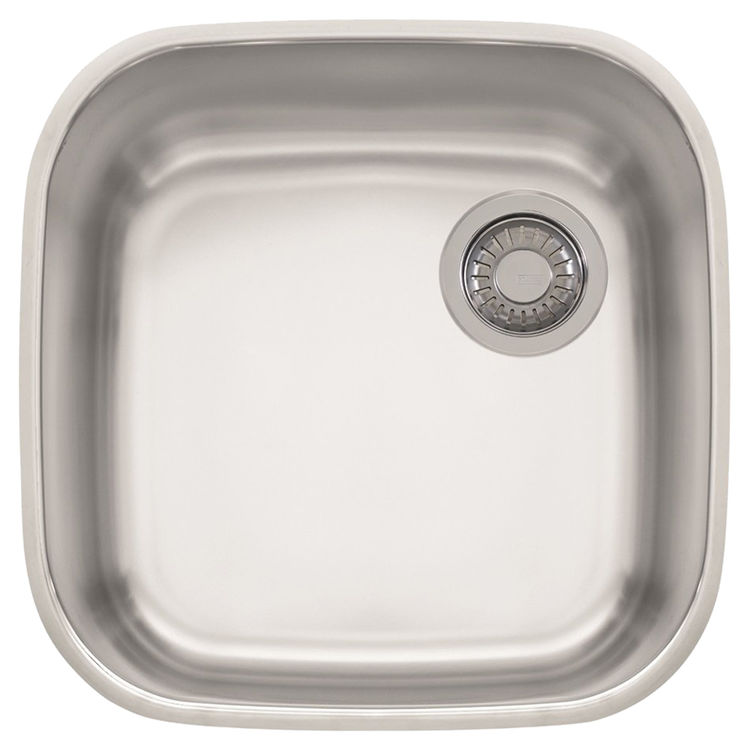 View 2 of Franke GNX11020 Franke GNX11020 Single Bowl Undermount Stainless Undermount Sink - Stainless