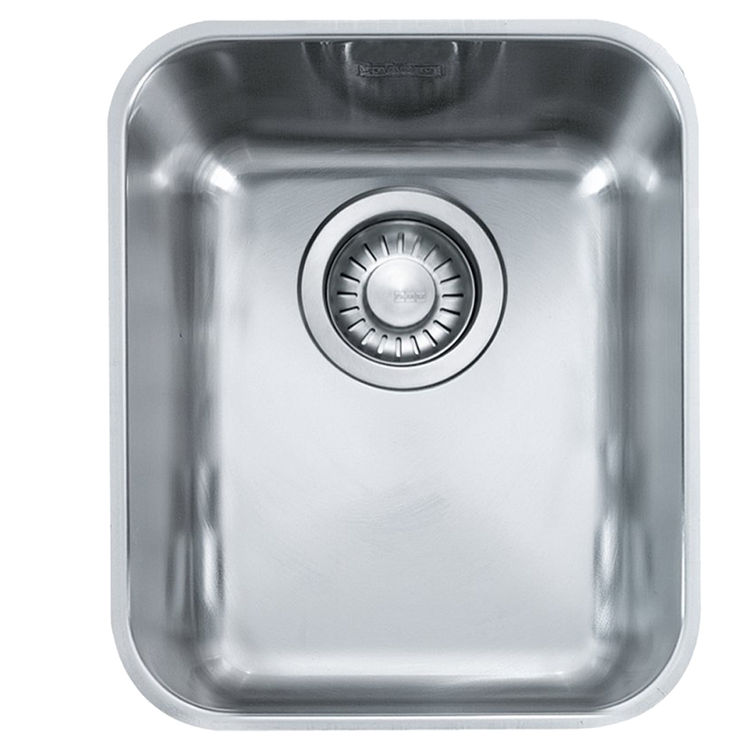 View 2 of Franke LAX11014 Franke LAX11014 Single Bowl Undermount Stainless Undermount Sink - Stainless