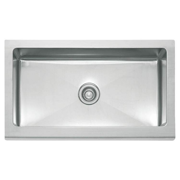 Franke MHX710-36 Franke MHX710-36 Single Bowl Apron Front Stainless Apron Front Sink - Stainless
