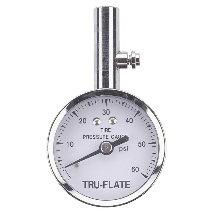 Plews 17-551 Plews 17-551 Tire Gauge, 10 - 60 psi, Steel