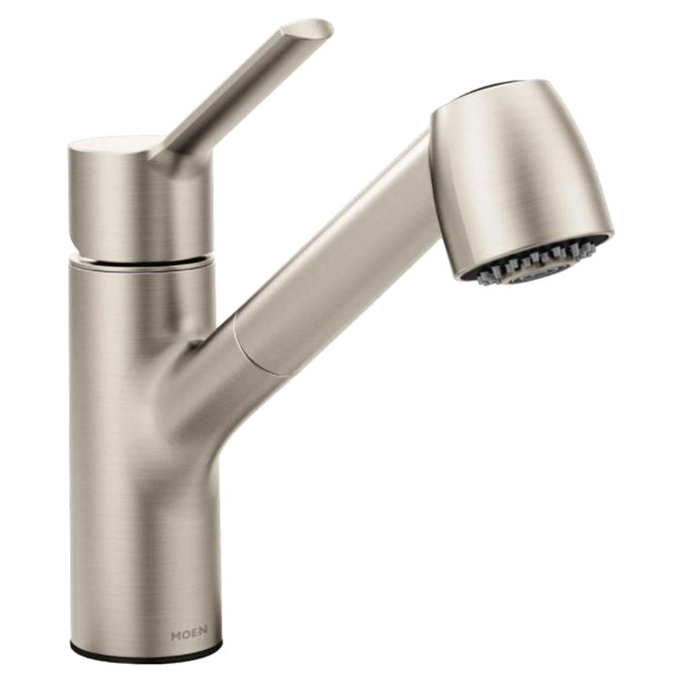 Moen 7585SRS MOEN 7585SRS METHOD ONE HANDLE PULLOUT KITCHEN FAUCET STAINLESS