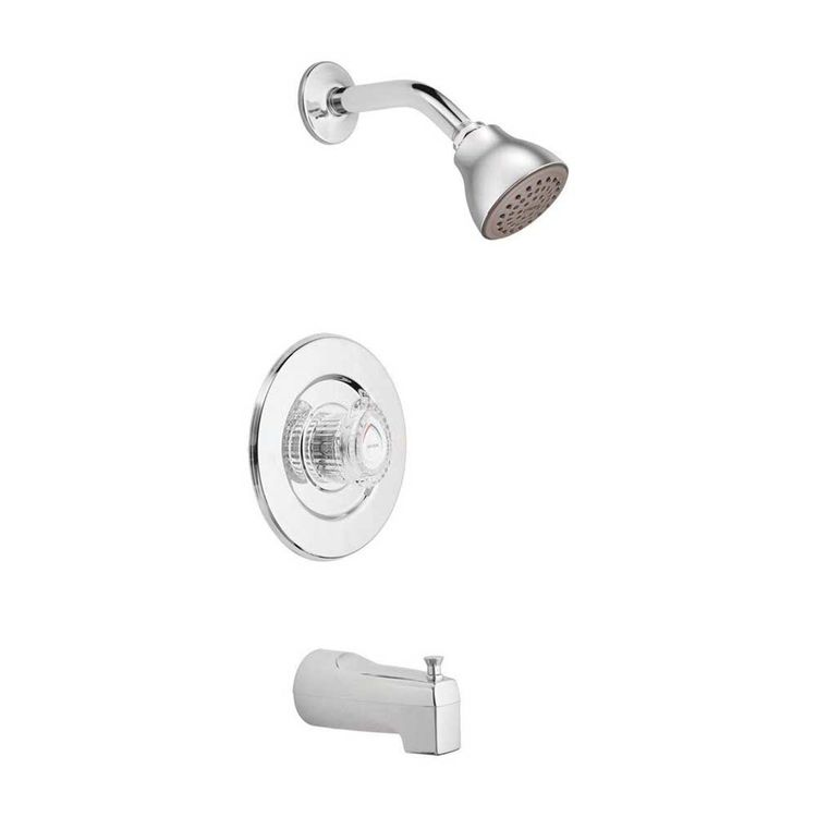 Moen T471EP Moen T471EP Chateau Tub and Eco-Performance Shower Trim Kit, Chrome
