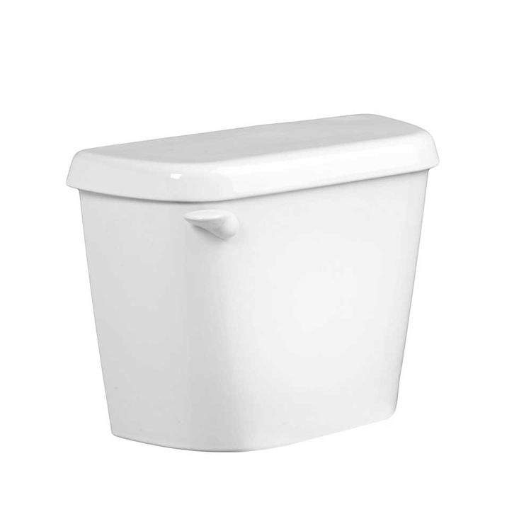 American Standard 4192B.104.020 Colony 4192B104.020 Elongated High-Efficiency Toilet Tank, 1.28 gpf, 2 in Flush Valve, 10 in Rough-In, White