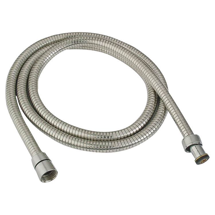 Whedon AF205C Whedon AF205C Bungy Metal Stretch Shower Hose, For Use With Hand Shower Brackets, 59 - 80 in