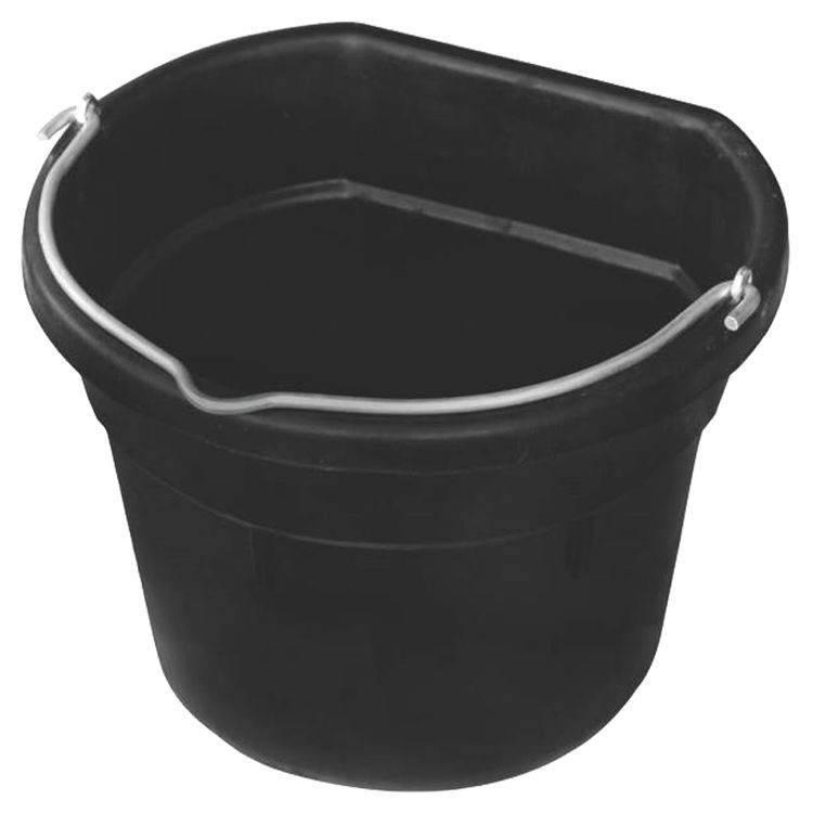 Farm Innovatros FB-15R Farm Innovators FB-15R Heated Flat Back Bucket, Rubber