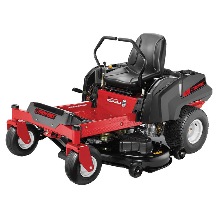 MTD 17BDCACW066 Troy-Bilt 17BDCACW066 Dual Hydro EZT Lawn Mower, 54 in W, 25 hp, 724 cc Briggs and Stratton, OVH Engine