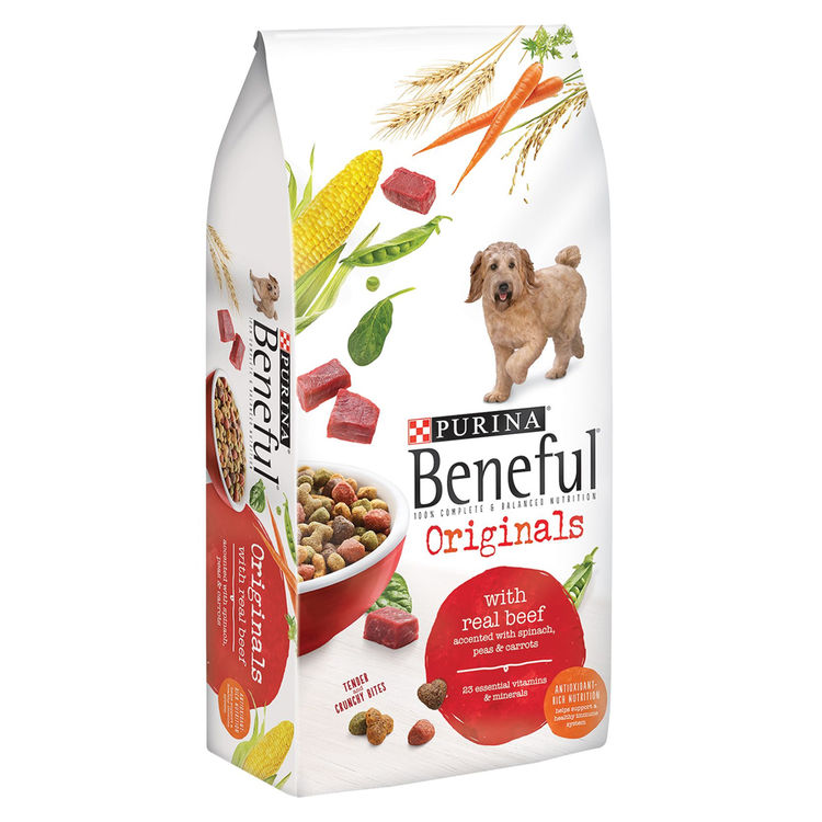 Purina 1780013476 Beneful 1780013476 Dry Dog Food, 15.5 lb Bag, Beef