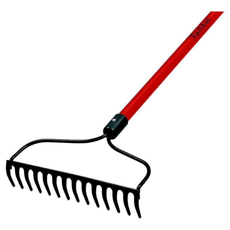 Toolbasix 33299 ToolBasix 33299 Bow Rake, 14 Tine, 54 in Handle