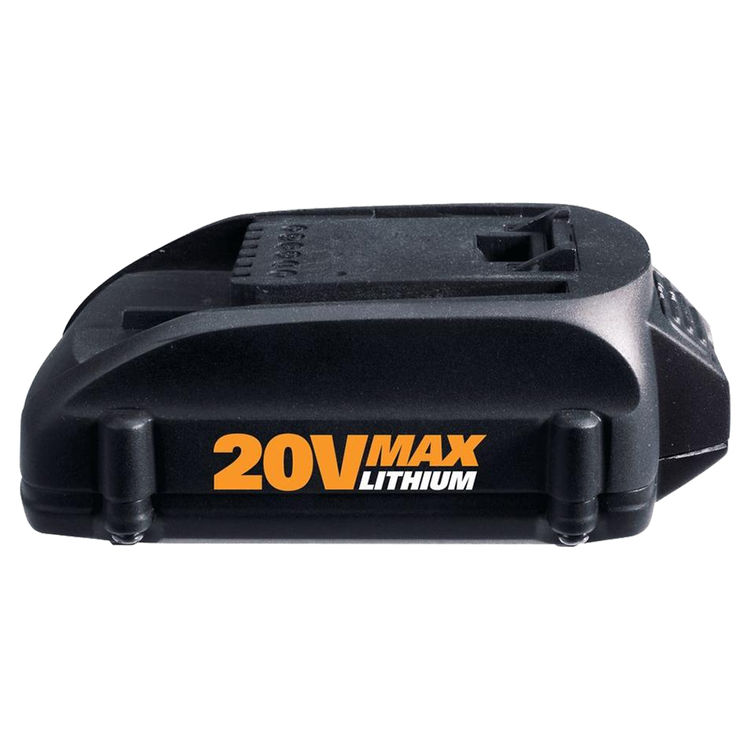 Worx WA3525 MaxLithium WA3525 Cordless Replacement Battery, For Use With Worx WG160, 200 mAh, Li-Ion, 20 V