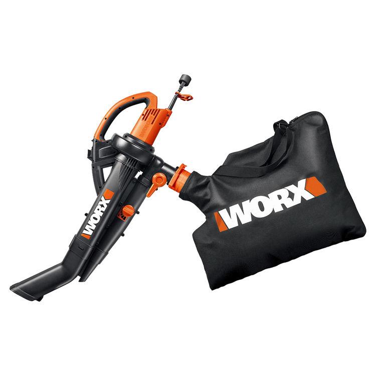Worx WG505 Worx WG505 Blower/Vacuum/Mulcher With Metal Impeller, Adjustable, 120 - 240 V, 12 A