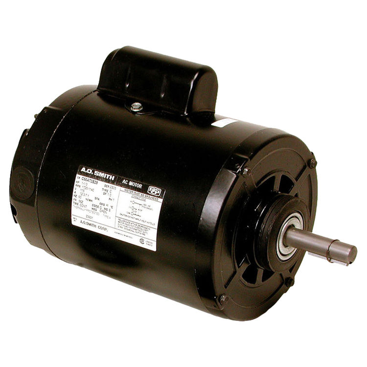 Dial 2395 Dial 2395 1 HP 2 Speed Single Inlet Motor, 115v Copperline