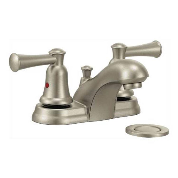 Moen CFG CA41211BN Bathroom Faucet Brushed Nickel | PlumbersStock