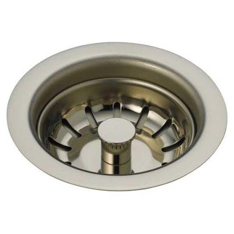 Brizo 69050-PN Brizo 69050-PN Polished Nickel Sink Flange and Strainer