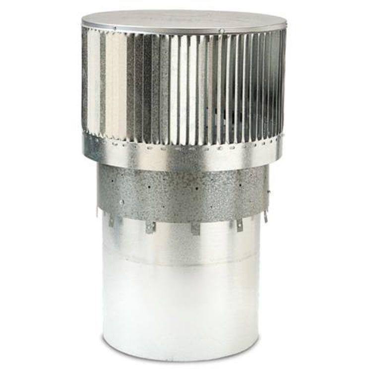 MHSC RLTCF11L HHT RLTCF11L LONG ROUND LOUVERED TERMINATION FOR CF11 PIPE