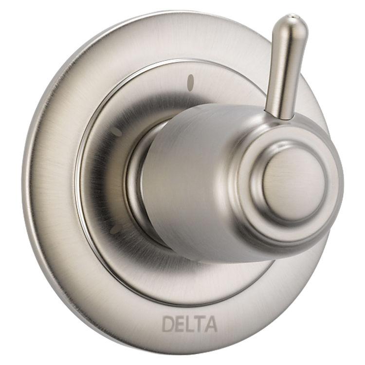 Delta T11800-SS Delta T11800-SS Tesla 3-Function 2-Port Diverter Trim - Stainless