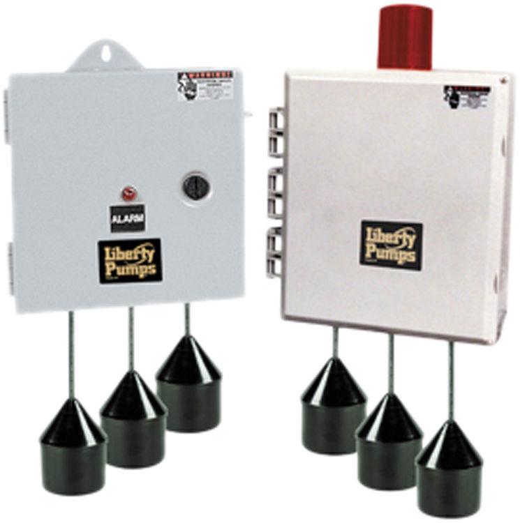 Liberty AE24L=3 Liberty Pumps AE24L=3 AE-Series Duplex Pump Control with Alarm