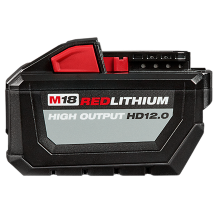 View 2 of   Mikwaukee 48-11-1812 M18 Redlithium High Output HD12.0 Battery Pack