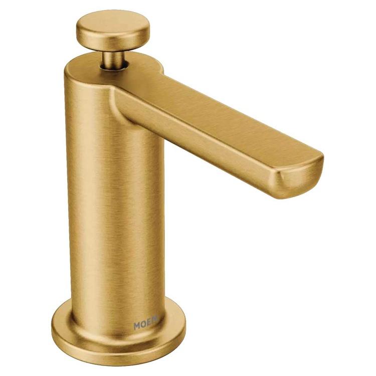 Moen S3947BG Moen S3947BG Modern Soap/Lotion Dispenser, Brushed Gold