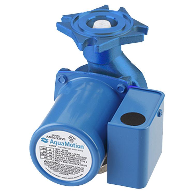Aquamotion AM8-FV1 AquaMotion AM8-FV1 Circulator Pump with Check Valve, Cast Iron