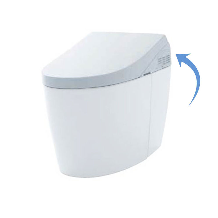 Toto SN989M#01 Toto SN989M#01 AH NeoRest AH Washlet Seat Only, Cotton White