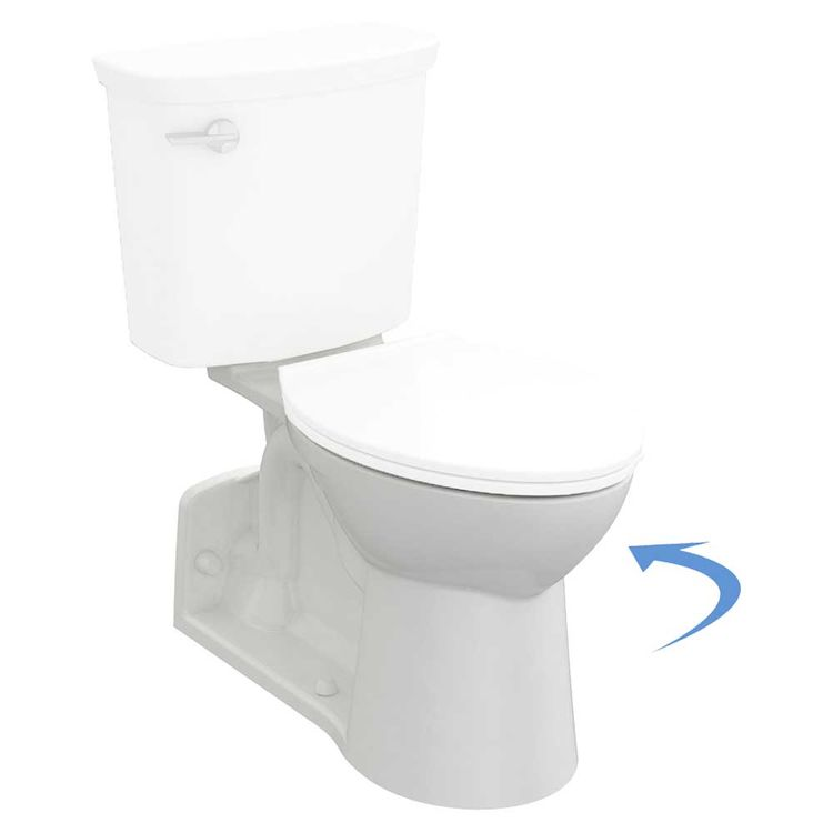 American Standard 3359A.101.020 American Standard 3359A.101.020 Yorkville Vormax Elongated Toilet Bowl Only, White