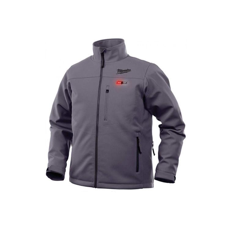 Milwaukee 202G-21XL Milwaukee 202G-21XL Toughshell M12 Men's Heated Jacket Kit, Gray, XL