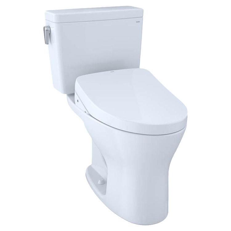 View 2 of Toto MW7463056CUMFG.10#01 TOTO Drake 1G WASHLET+ S550e Two-Piece Toilet - 1.0 GPF & 0.8 GPF - 10