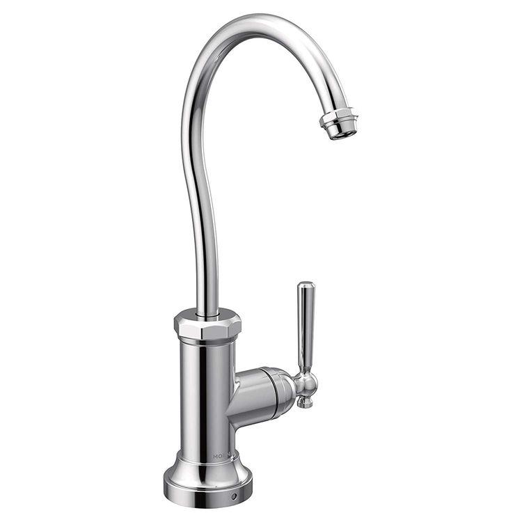 Moen S5540 Moen S5540 Paterson Sip One Handle Beverage Faucet Trim, Chrome