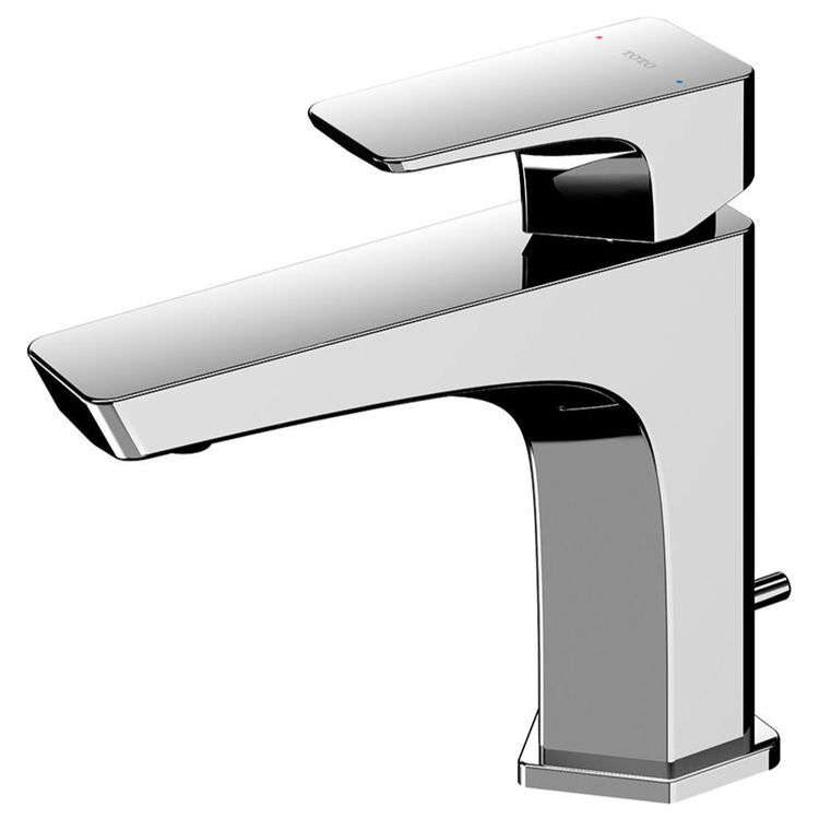 Toto TLG07301U#CP TOTO GE 1.2 GPM Single Handle Bathroom Sink Faucet with COMFORT GLIDE Technology, Polished Chrome -TLG07301U#CP