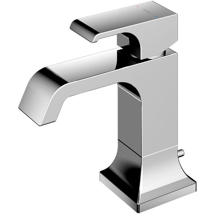 Toto TLG08301U#CP TOTO GC 1.2 GPM Single Handle Bathroom Sink Faucet with COMFORT GLIDE Technology, Polished Chrome - TLG08301U#CP