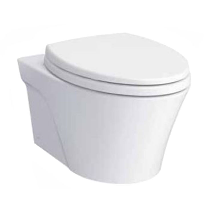 Toto CWT426CMFG#WH TOTO AP Wall-Hung Dual-Flush Toilet, 1.28 GPF & 0.9 GPF with DUOFIT In-Wall Tank Unit, CWT426CMFG#WH - White