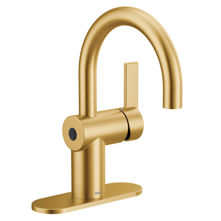 6221EWBG single hole faucet in brushed gold
