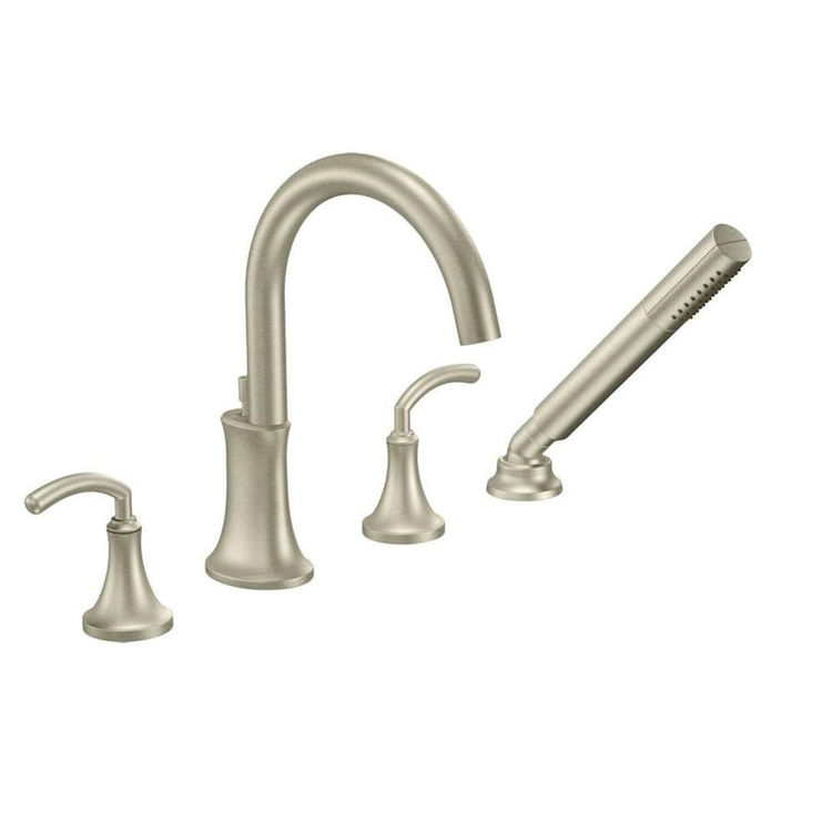 Moen YB5886BN Icon Towel Ring Brushed Nickel