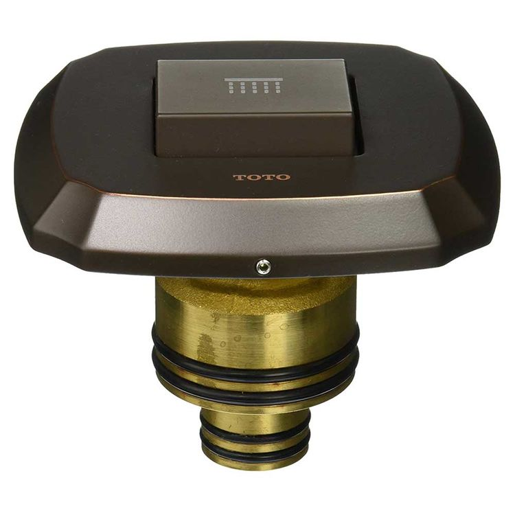 View 3 of Toto TS970C3#RB Toto TS970C3 Oil Rubbed Bronze Guinevere Push Button Valve Trim